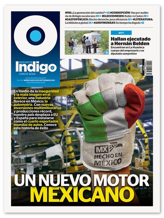 Reporte Indigo Cover, issue No. 102, © Reporte Indigo 2012