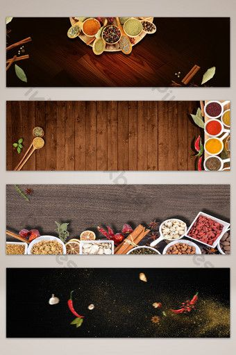 Kitchen Seasoning Poster Banner Background Backgrounds Psd Free Download Pikbest Creative Poster Design Banner Background Images Creative Posters