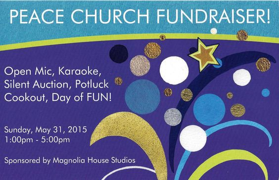 Fundraiser at Magnolia House Studios, magnoliahousestudios.com
