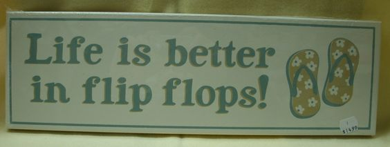 flip flops... sandals   all the same