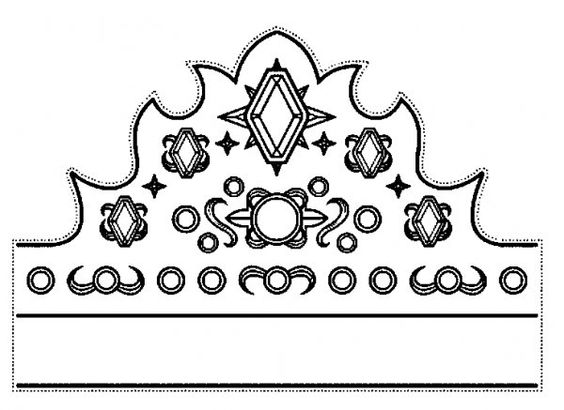 kroontje prinses sprookjes knutselen