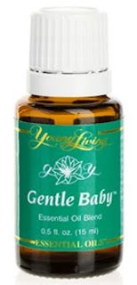 Gentle Baby   Gentle Baby™ is a soft, fragrant combination of essential oils designed specifically for mothers and babies. It helps calm emotions during pregnancy and is useful for quieting troubled little ones. It is also soothing to tender skin. Many of the essential oils in this blend are used in elite cosmetics to enhance a youthful appearance.