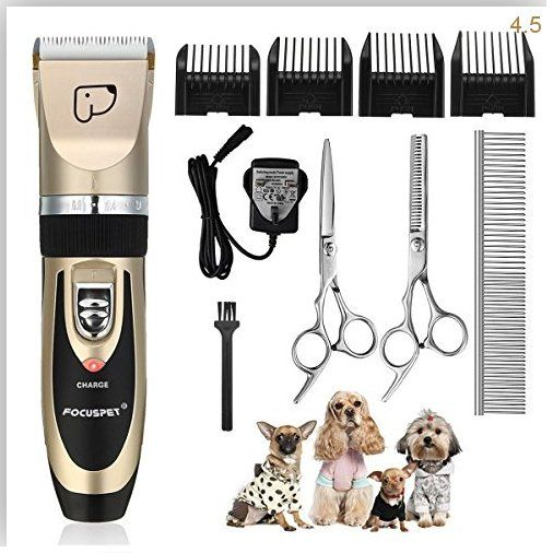 Grooming Clippers Focuspet Rechargeable Cordless Pet Supplies Animals Best Cordless Cats Clippers Cordless Dog Dogs E Dog Grooming Clippers Pet Grooming Pets
