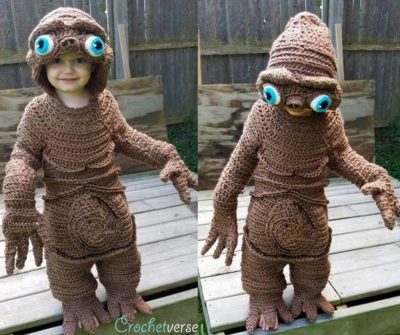 ET Halloween costume (crochet)