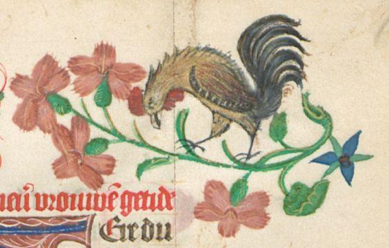 Niederländisches Stundenbuch für die Diözese Utrecht Ende 15. Jh. Cgm 8346 Folio 16