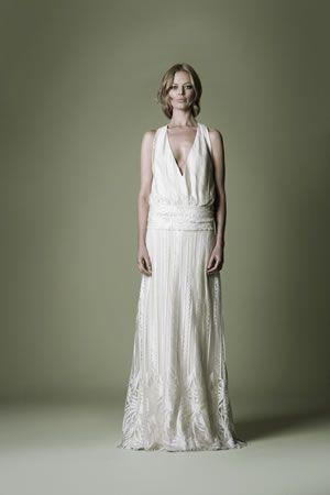 shape 1920s vintage wedding dress   Decades Silk Collection