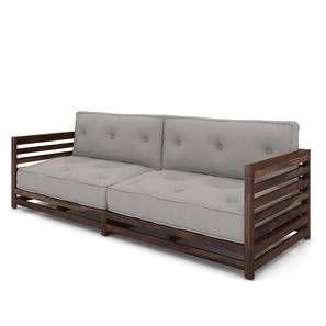 Raymond Low Wooden Sofa 3 Seater Wooden Sofa Wooden Sofa Set