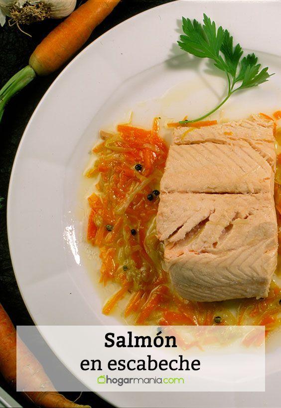 Receta De Salmón En Escabeche Karlos Arguiñano Receta Salmon Recetas Comidas Con Espinaca Escabeche