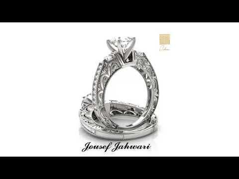 أجمل خواتم الزواج 2019 من الذهب الخالص والماس Youtube Engagement Rings Rings Jewelry