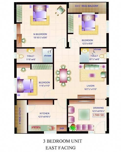 East Facing Vastu Home Plan In 2020 Indian House Plans 20x40 House Plans Family House Plans