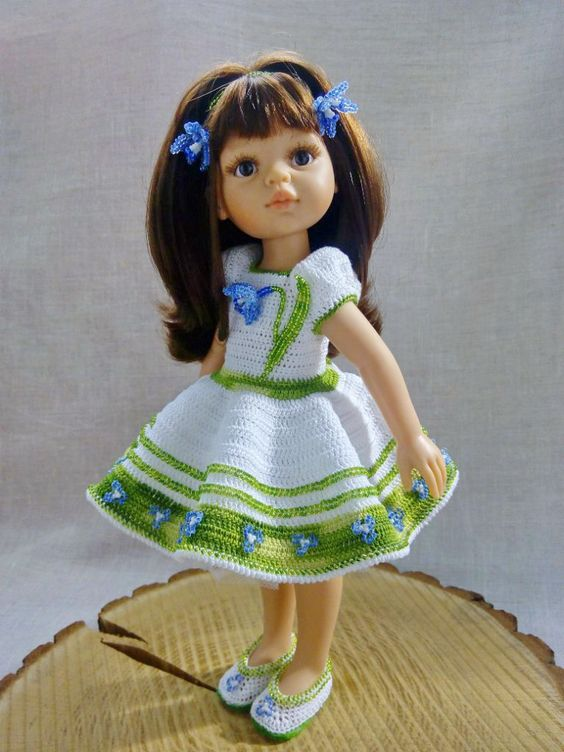Алины игрушки - вязание для кукол: