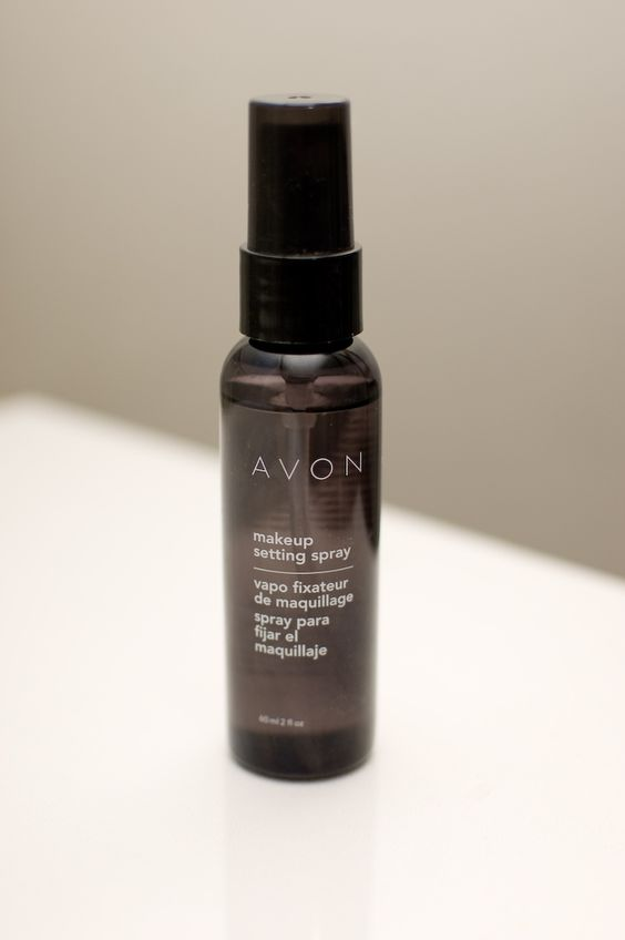 Photographed by: Efren S. Landaos Avon Make-up Setting Spray: