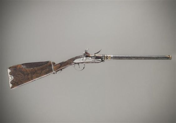Hunting riffle of the Comte d'Artois, 1775: