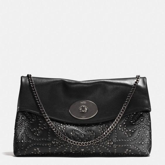 chloe it bags - Coach :: MINI STUDS LARGE CLUTCH IN LEATHER | Fashion | Pinterest ...