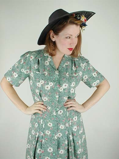 item128.3-30s-vintage-flower-print-day-dress.jpg (390×520)