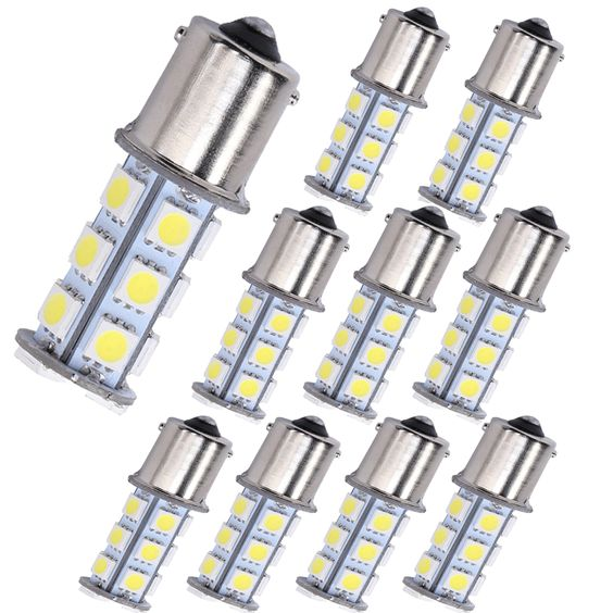 1156 Led Light Bulb Muhize Super Bright 6000k White 5050 18smd 2018 New Design Dc 12v Replacement Ba15s 1073 1093 Bulb Led Light Bulb Led Lights Led Bulb