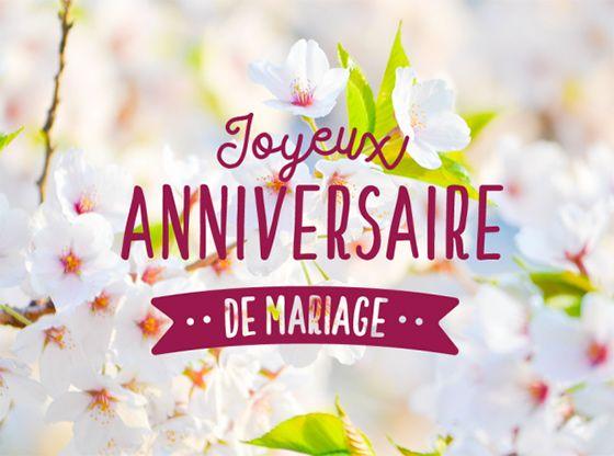 joyeux anniversaire de mariage joyeux