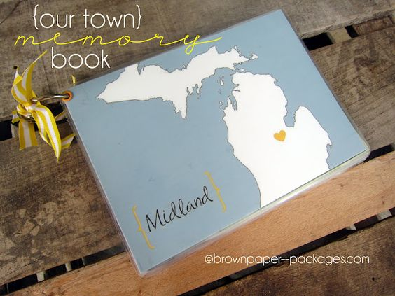 Our Town Memory Book @ brownpaper--packages.com