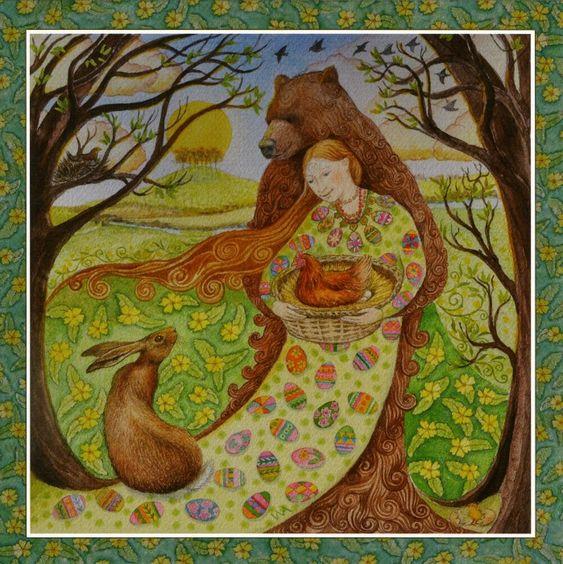 Goddess Festival - Spring Equinox ~ Wendy Andrew