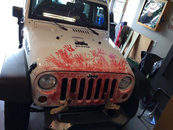 Zombie Jeep Halloween