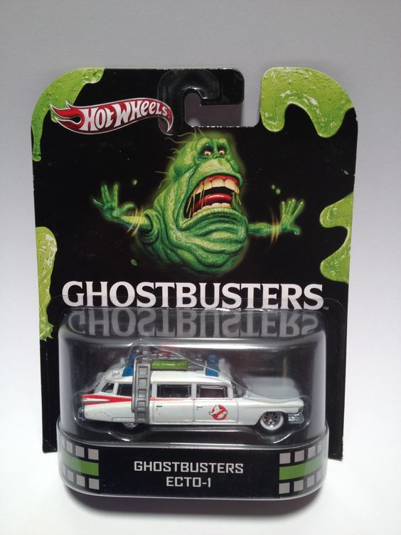 Hotwheels Ghostbusters Ecto-1