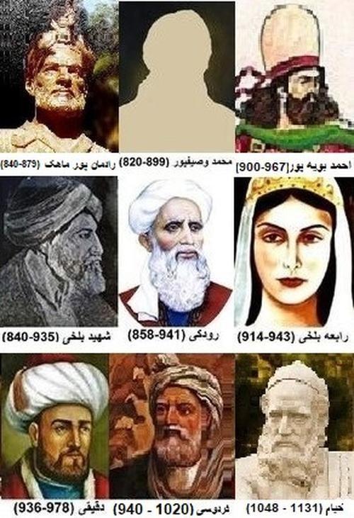عکس و تصویر نام بزرگانی که از دستدرازی کردن عرب های مرزدر متجاوز به زبان پارسی جلوگیری کردند Iranian Art Persian Pattern History Photos