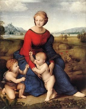 Madonna of Belvedere by Raphael