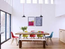 Image result for table with eames chairs and benches