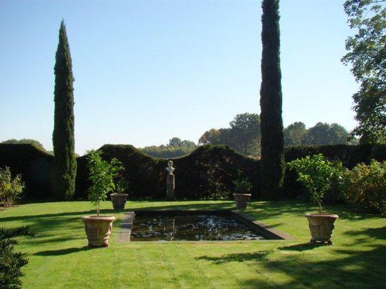 Jardin italien du Manoir de la Javelière ©