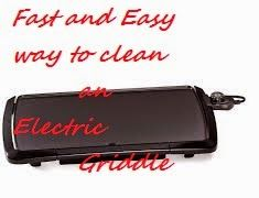 Fast and Easy Cleaning Tips for your Electric Griddle!