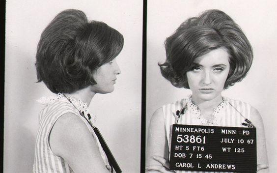 23 Vintage Bad Girl Mugshots