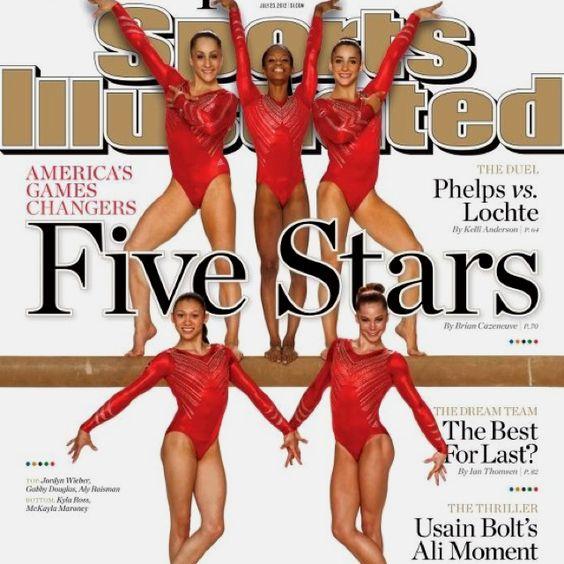 USA womens gymnastics Olympic team <3