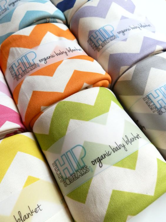 I love these but a little too expensive.  Organic Jersey Chevron Receiving Blanket