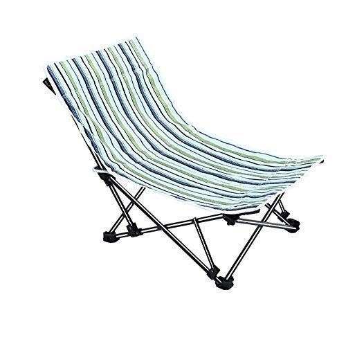 Fh Portable Deck Chair Office Lunch Break Lazy Chair Camping Beach Lounge Chair 51 51 60cm Stripes Beach Lounge Chair Portable Deck Deck Chairs