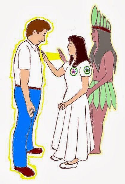"""Fé, Amor e Evolução: Passe espírita"""" e o """"passe Umbandista"""":"""