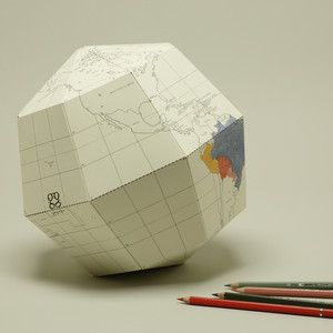 Geographic-Inspired Paper Products