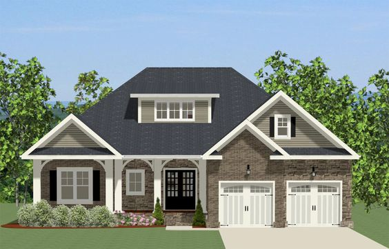 Study or Fourth Bedroom - 46288LA | Southern, 1st Floor Master Suite, Bonus Room, Butler Walk-in Pantry, Den-Office-Library-Study | Architectural Designs