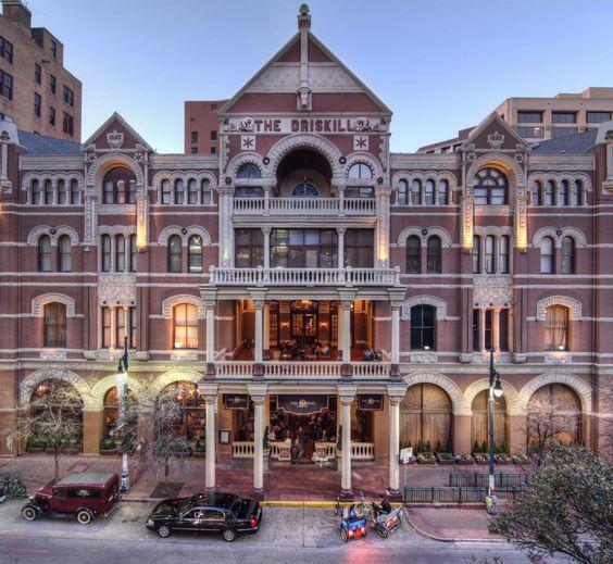 The Driskill Hotel - 6th Street - Austin, Texas