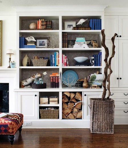 Well-Curated Bookcase // Photographer Donna Griffith // House & Home Makeovers 2008 Special Issue