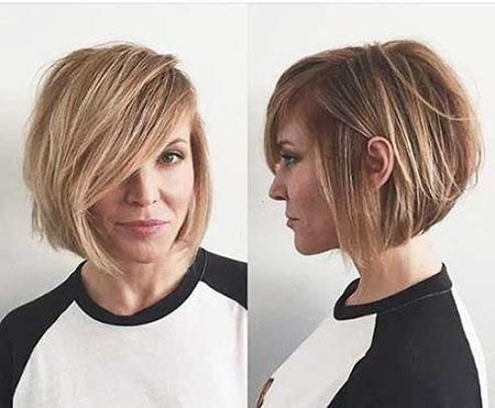 Fine Hair Round Face Haircut 2018 Bob Haircut For Fine Hair Short Hair Styles For Round Faces Bob Hairstyles For Fine Hair