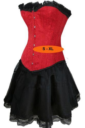 Red Corset Dress: Oooooo Red, Corsets 3, Corset Dresses, Dress I M, Red Corset