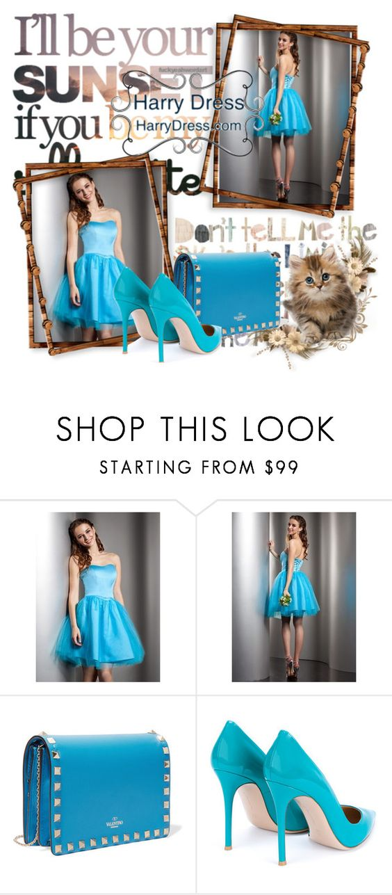 """""""contest"""" by quamily-flew76 ❤ liked on Polyvore featuring Valentino, Gianvito Rossi and harrydress"""