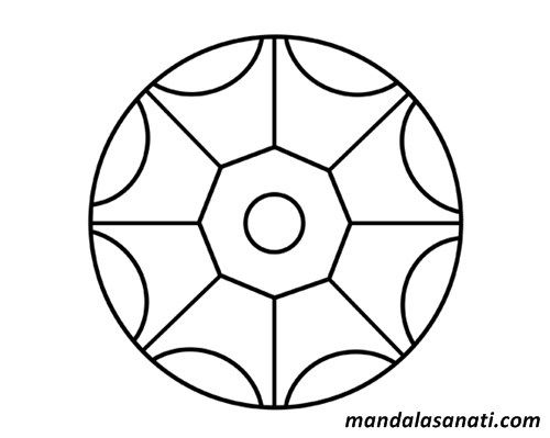 Okul Oncesi Mandala Boyama Sayili Motifler 2020 Mandala Boyama Sayfalari Mandala Cizim
