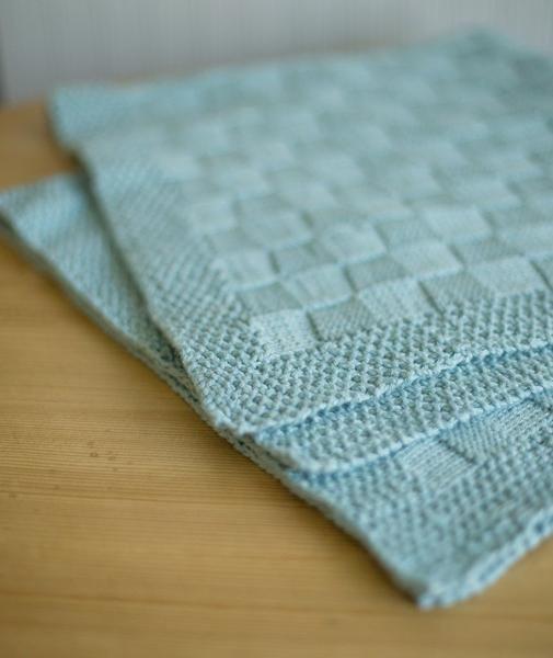Block Stitch Baby Blanket Using Berroco Pima 100 In 2020 Blanket Knitting Patterns Baby Blanket Knitting Pattern Free Baby Blanket Patterns