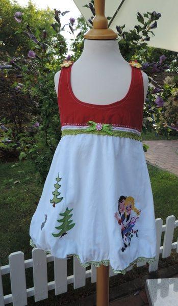 Rosarotewelt Kleid Märchenkleid Farbenmix Rosalie von Rosarote-Welt auf DaWanda.com