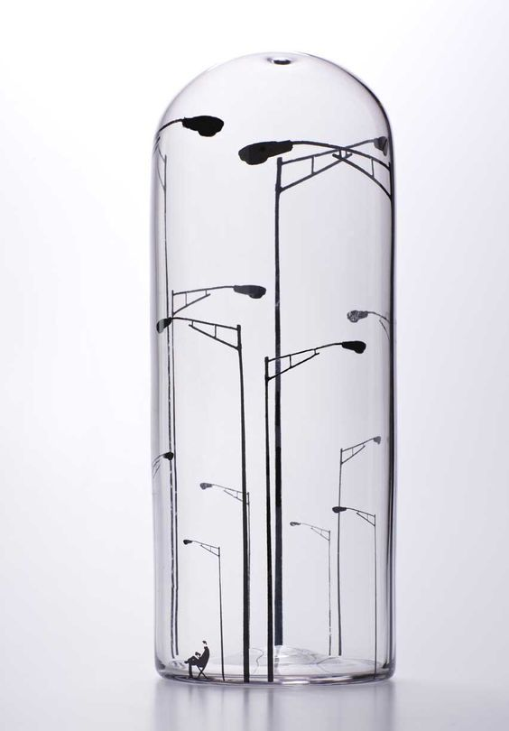 Aaron Oussoren Glass Sketches Glass Art What Is Contemporary