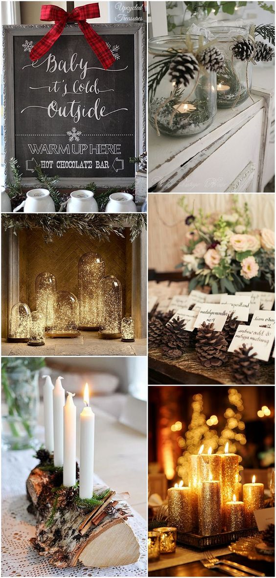 Ideas and Inspiration for your Winter Wedding - winter wedding details #winterwedding