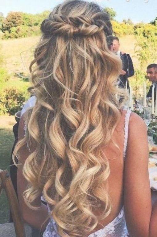 Hairstyles Wedding Guest Ideas Best Half Upbest Hairstyles Wedding Guest Half Up Id Wedding Hairstyles For Long Hair Wedding Hair Down Wavy Wedding Hair