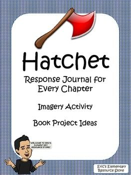 Included is a Response Journal for every chapter where students will focus on vocabulary, context clues, and dictionary skills.  They will also write summaries for chapters.  Also included is a Figurative Language Lesson and Book Project Ideas.