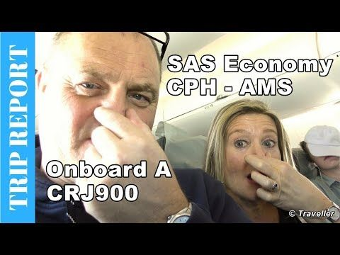 A Flight With Scandinavian Airlines Sas In Economy Class From Copenhagen Airport To Amsterdam Schiphol Airport Airline Economy Flight Review European Airlines